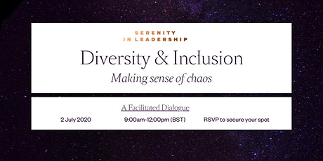Diversity & Inclusion: Making Sense of Chaos tickets