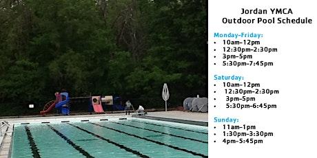 Jordan YMCA Outdoor Pool Reservations tickets