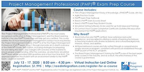 PMP Power Prep - Virtual - July13-17, 2020 tickets