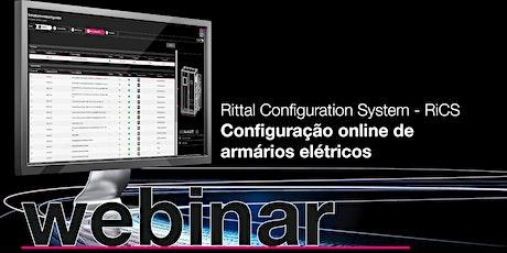 Webinar  | RiCS | Configuração online de armários elétricos entradas
