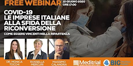 Covid-19, le imprese italiane alla sfida della riconversione biglietti