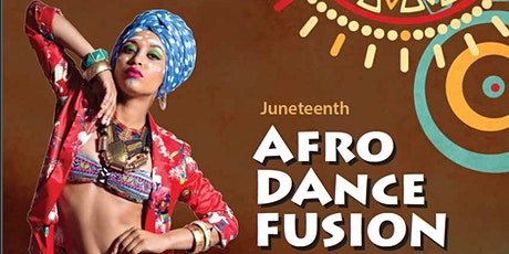 Juneteenth 2020 Afro Dance Fusion Online Session tickets
