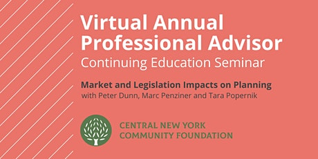 Virtual Annual Professional Advisor Continuing Education Seminar tickets