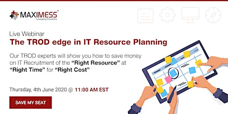 The TROD edge in IT Resource Planning tickets