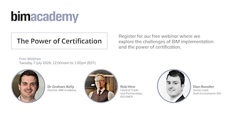 The Power of Certification tickets