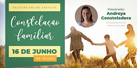 Palestra Online Gratuita Constelação Familiar tickets