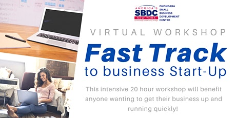Fast Track to Business Start-Up Virtual Workshop - June 2020 tickets