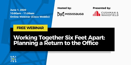 Working Together Six Feet Apart: Planning a Return to the Office tickets