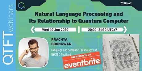 Natural Language Processing and its Relation to Quantum Computing tickets