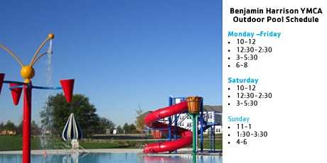 Benjamin Harrison YMCA Outdoor Pool Reservations tickets
