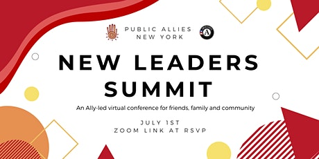 Public Allies New Leaders Summit tickets