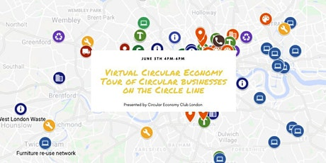 Virtual Circular Economy Tour of the Circle line - Pub Crawl tickets