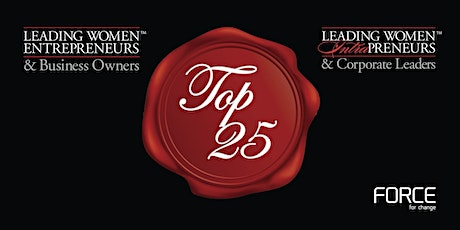 THE 2020 TOP 25 LEADING WOMEN VIRTUAL RECOGNITION EVENT tickets