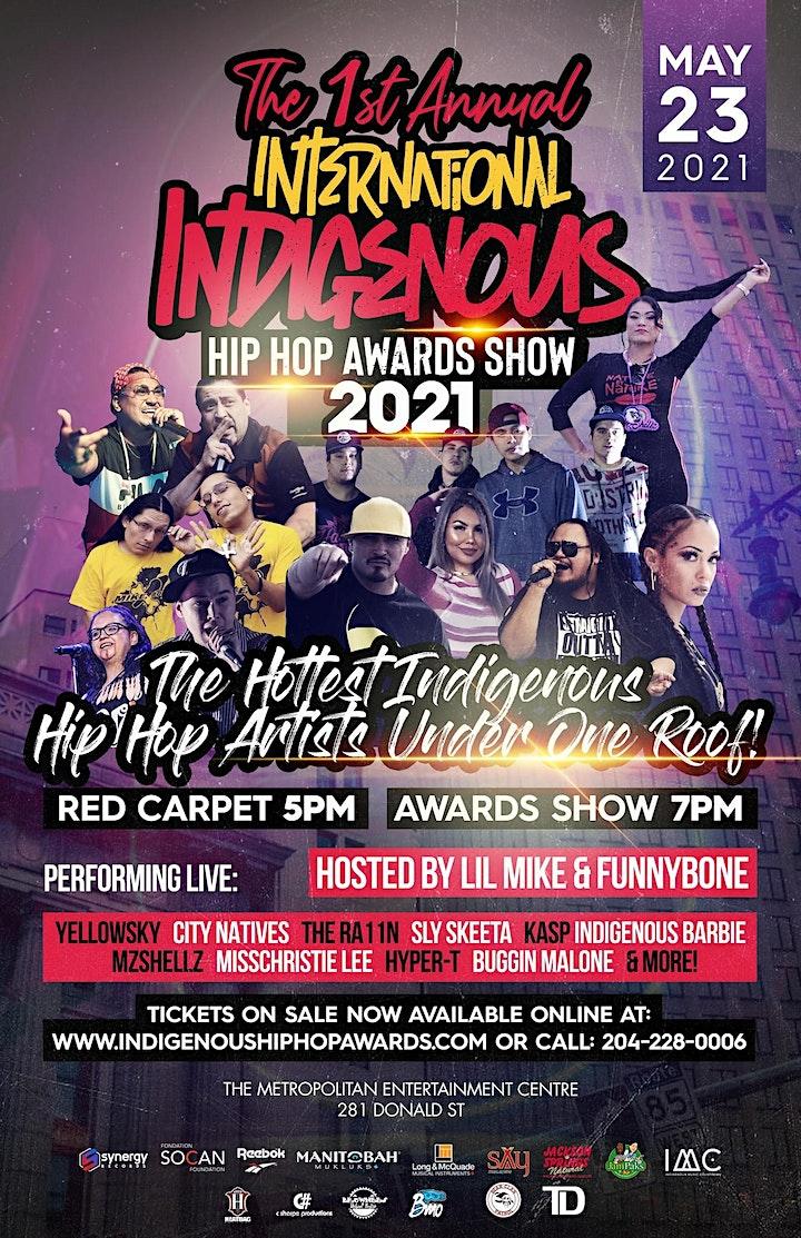 Mike Bone at Indigenous Hip Hop Awards image