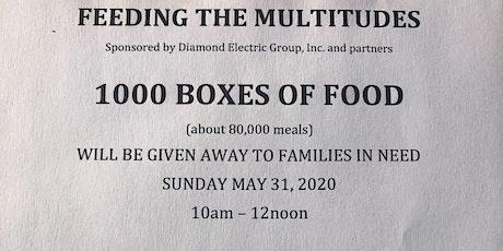 Feeding the Multitudes tickets