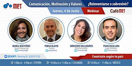 Comunicación, Motivación y Valores - ¿Reinventarse o sobrevivir? entradas
