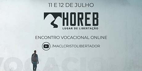 Horeb 2020 - Encontro Vocacional bilhetes