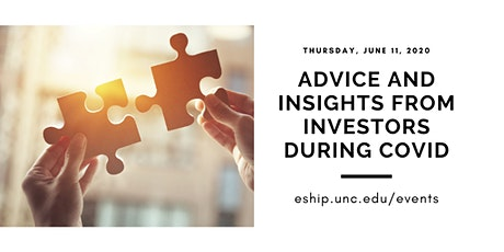 Advice and Insights from Investors During COVID tickets