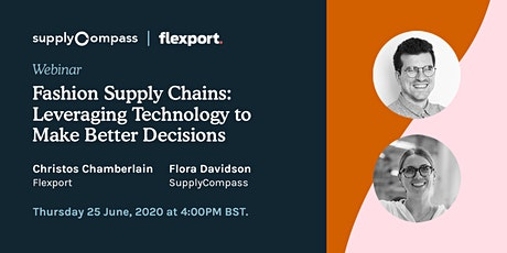 Fashion Supply Chains: Leveraging Technology to Make Better Decisions tickets