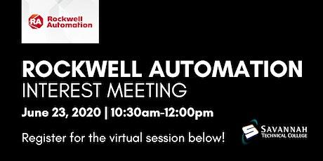 Rockwell Automation Interest Meeting | FREE Webinar tickets