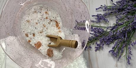 Bath Salt & Salt Scrub Workshop tickets