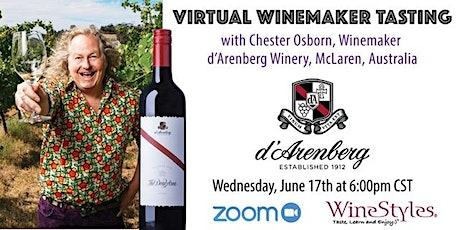 Virtual Tasting: d'Arenberg Winery tickets
