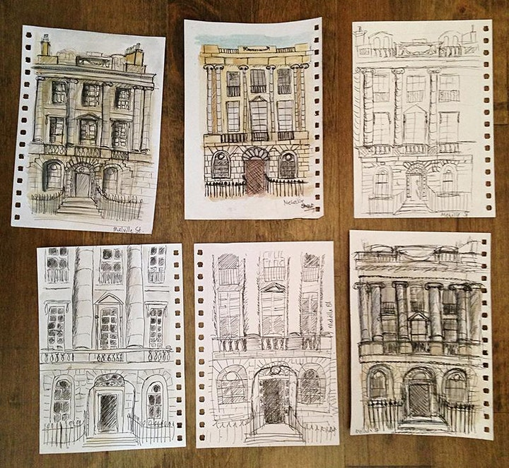 Urban Sketching - Let's Draw Some Awesome Cities image
