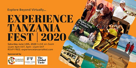 Experience Tanzania Fest | The Virtual Experience tickets