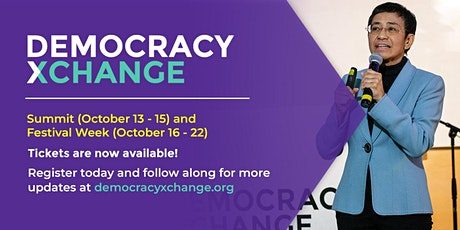 DemocracyXChange 2020 tickets