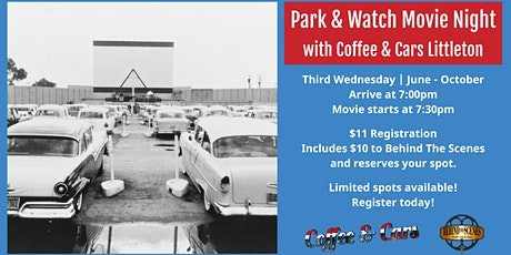 Park and Watch Movie Night with Coffee & Cars - Littleton tickets