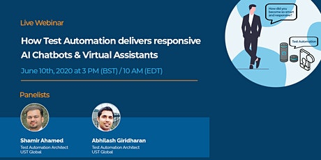 How Test Automation delivers responsive AI Chatbots and Virtual Assistants tickets