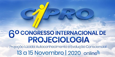 CIPRO - VI Congresso Internacional de Projeciologia bilhetes