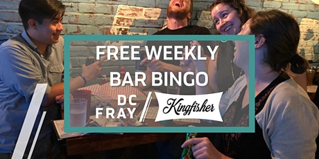 Copy of Free Weekly Bar Bingo at Kingfisher DC, Every Monday tickets