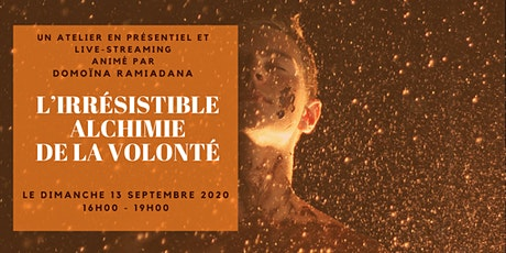 [ATELIER] L'IRRÉSISTIBLE ALCHIMIE DE LA VOLONTÉ billets