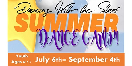 "ATD Summer Dance Camp : ""Dancing With The Stars"" tickets"