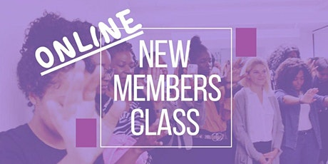 New Members Class tickets