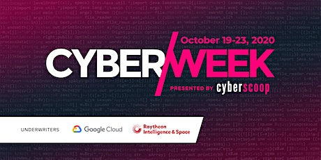 CyberWeek 2020 tickets