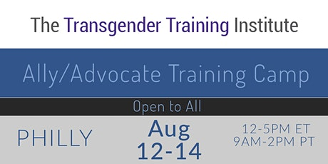 Ally/Advocate Training Camp - ONLINE - Aug  12-14, 2020 tickets
