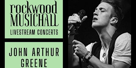 John Arthur Greene - INSTAGRAM LIVE tickets