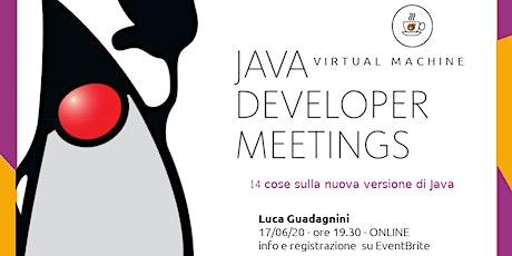14 cose sulla nuova versione di Java biglietti