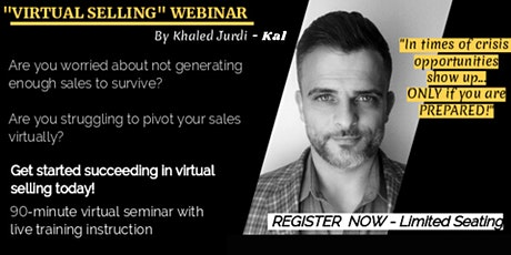 Virtual Selling Around The Globe -How to Survive and Thrive During Crises tickets