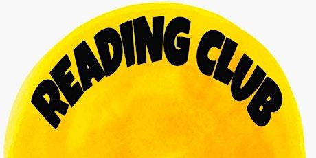 Reading Club Special Sessions boletos