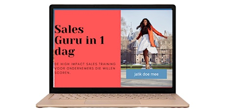 SalesGuru in 1 dag tickets