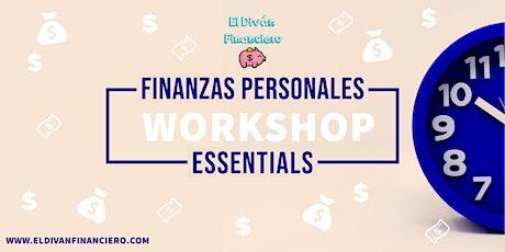 Workshop Finanzas Personales Básicas entradas