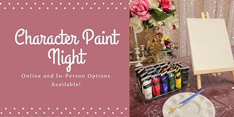 Paint Night with Polynesian Princess tickets