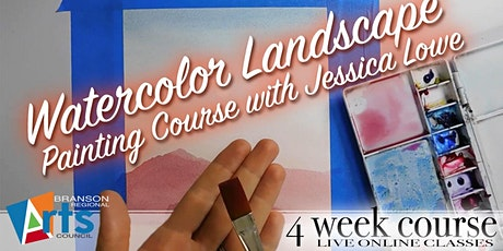 Online Watercolor Landscape Painting Course tickets