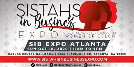 Sistahs in Business Expo 2020 - Atlanta, GA tickets
