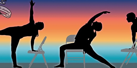 ONLINE Chair Flow Yoga for Stress Relief & Renewal - Wednesday, 1:30-2:30pm tickets