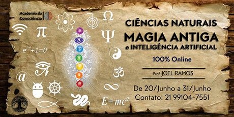 Ciências Naturais, Magia Antiga e Inteligência Artificial ingressos