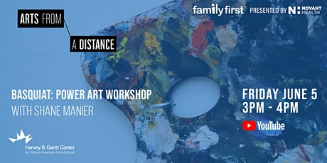 Family First: Power Art Workshop with Shane Manier tickets